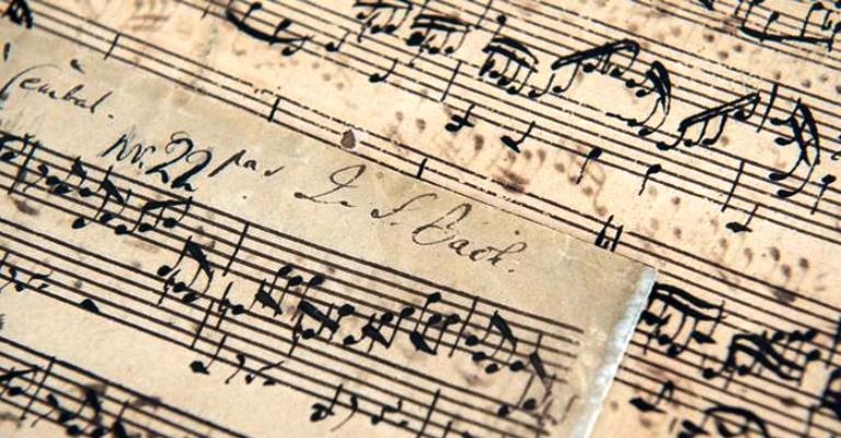 Raro manuscrito de Bach é arrematado por US$ 3,3 mi
