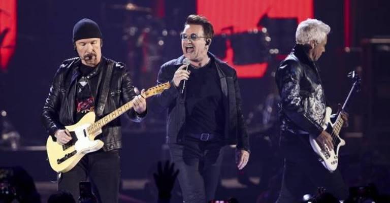 Banda U2 lidera o ranking de shows mais procurados
