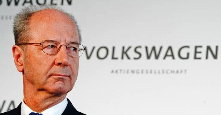 Escândalo atinge presidente do conselho da VW
