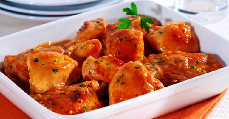 Uma receita deliciosa: frango ao Molho Madeira!