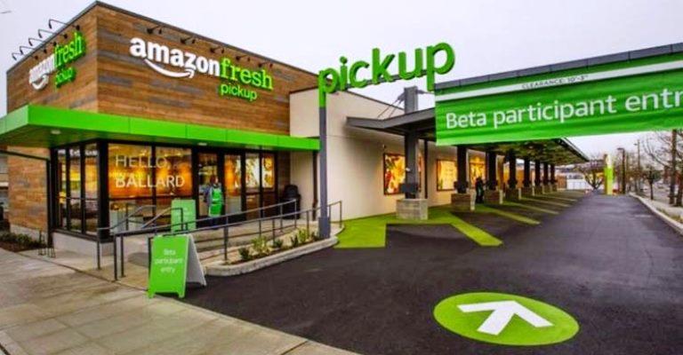 Amazon inaugura duas lojas com conceito inovador