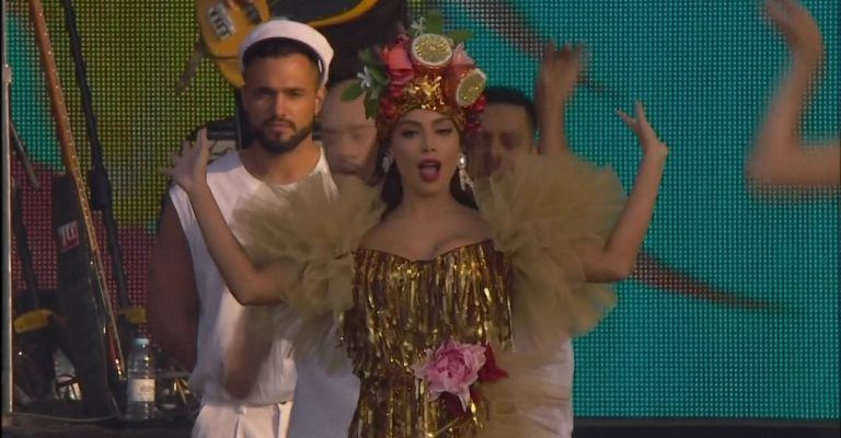 Bruno Mars e Anitta arrebentam no Rock in Rio Lisboa