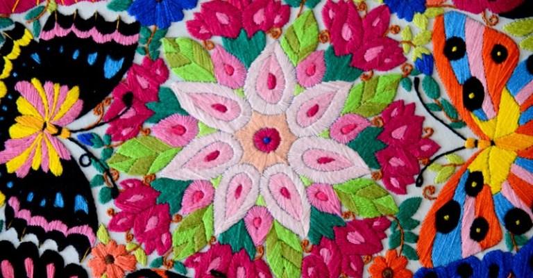 Mostra apresenta bordados de artesãs de Minas Gerais