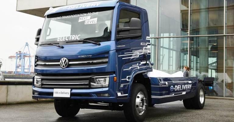 Caminhão elétrico da Volkswagen é desenvolvido no Brasil