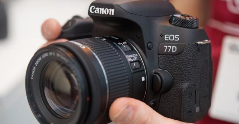 Canon anuncia a chegada da câmera EOS 77D