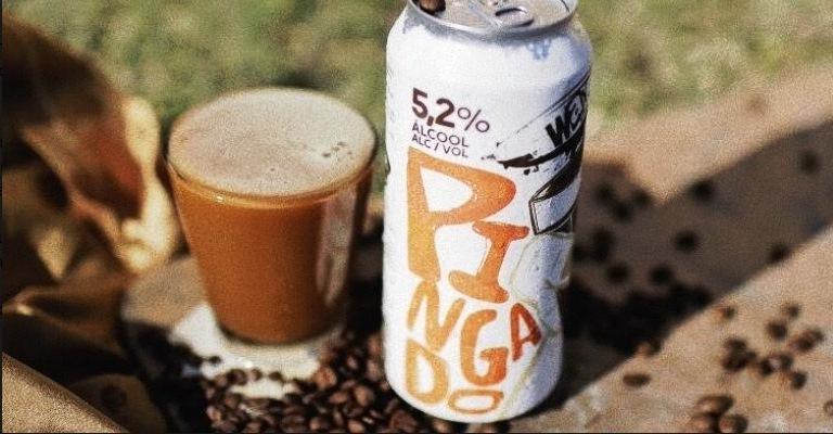 """Cerveja """"Pingado"""" leva café e leite vaporizado"""