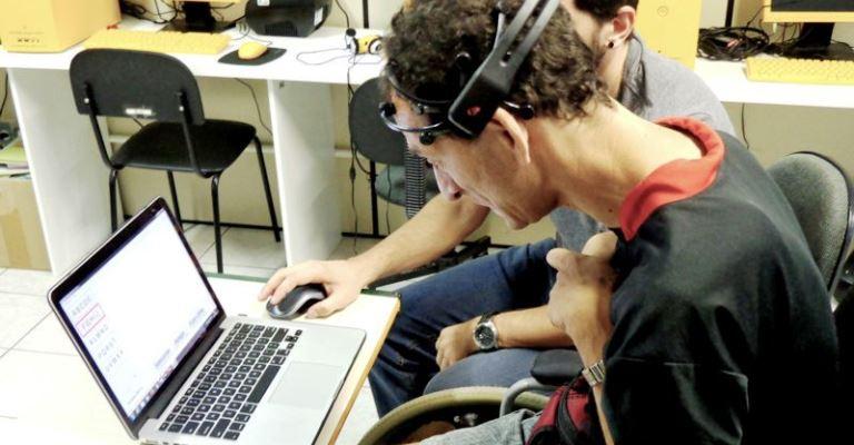 Software para pessoas com paralisia cerebral