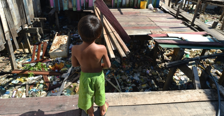 Mais da metade do mundo não tem saneamento básico