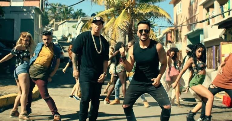 Despacito lidera ranking de músicas tocadas no Brasil