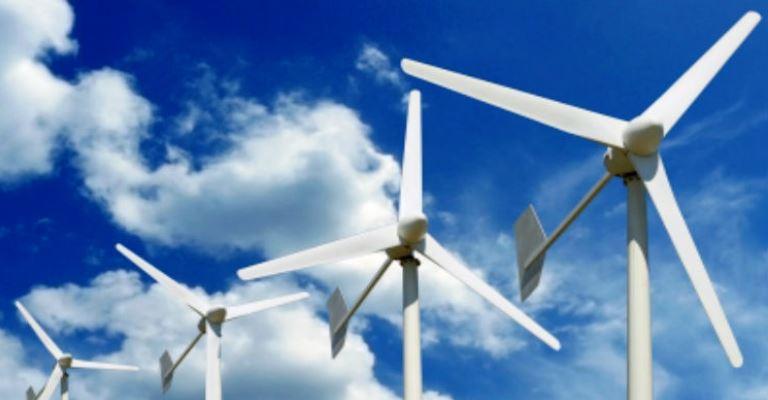 Turbina eólica vai gerar energia para 50 mil casas