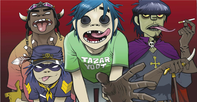 Gorillaz anuncia novo disco de estúdio 'Humanz'