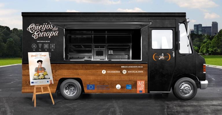 Belo Horizonte recebe Cheese Truck Queijos da Europa