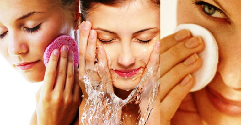 As diferenças entre limpar a pele  de manhã e à noite