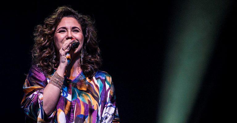 Maria Rita se apresenta com Andrea Bocelli em turnê