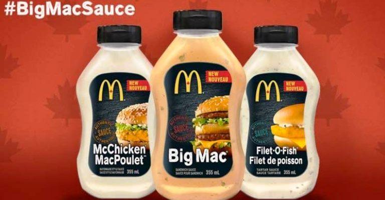 McDonald's vai vender molhos de seus lanches