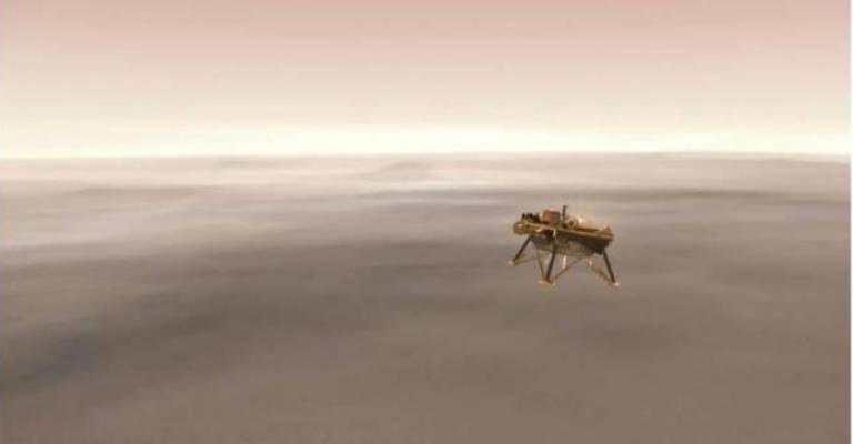 NASA vai transmitir pouso de nave em Marte