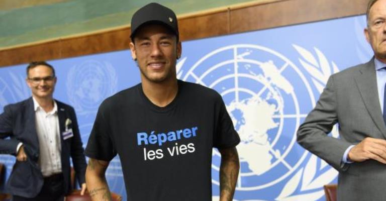 ONU anuncia Neymar como embaixador da Boa Vontade