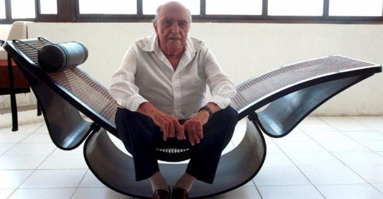 Loja reúne peças históricas de Niemeyer