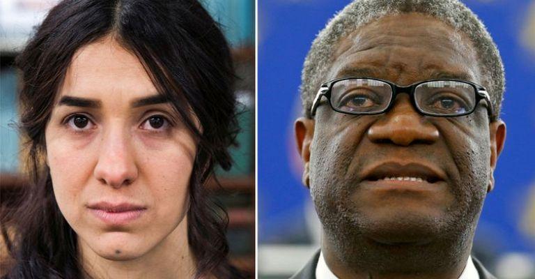 Prêmio Nobel da Paz vai para ex-escrava sexual e médico