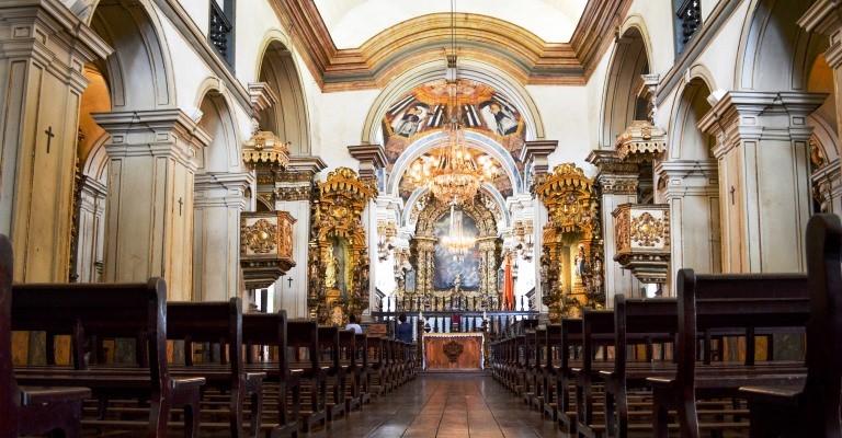 Agenda dos concertos do órgão histórico de Tiradentes