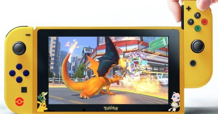 Nintendo lançará Switch do jogo Pokémon