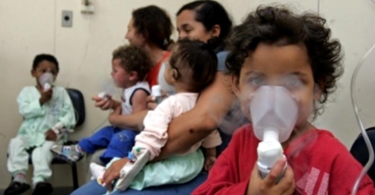 93% das crianças respiram poluição acima do recomendável