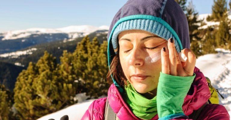Protetor solar também é importante durante o inverno