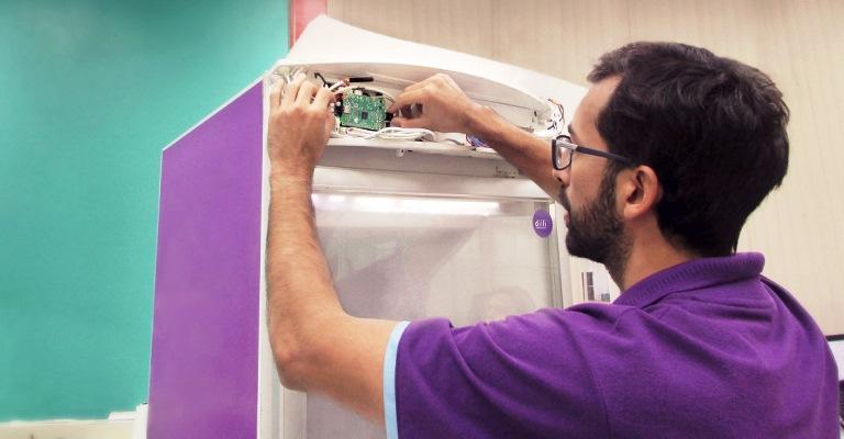 Empresa usa IoT para tornar refrigeradores mais inteligentes