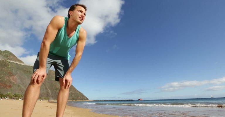 Respirar adequadamente ajuda na hora do treino