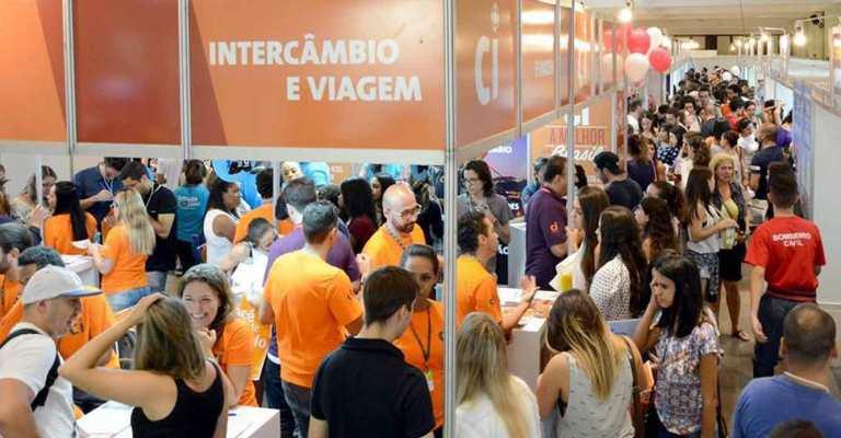 Salão do Estudante reúne 200 instituições de 13 países