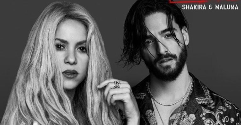 Shakira e Maluma apresentam