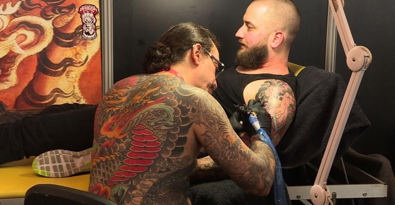 BH sedia 1ª edição da Tattoo World Convention