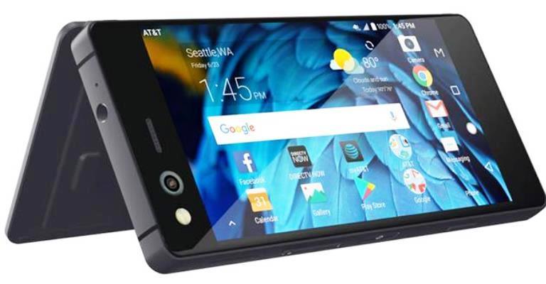 Novo smartphone tem tela dupla