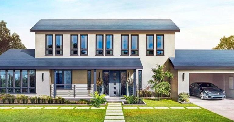 Telha solar da Tesla é mais barata do que as convencionais