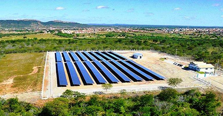 Usina solar trará retorno de R$140 mil em um ano