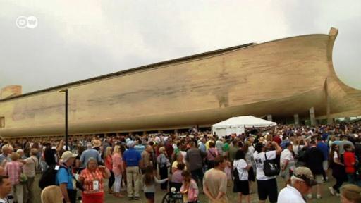 No Kentucky (EUA) uma Arca de Noé para turistas