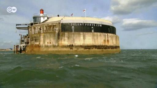 Na Inglaterra antiga fortaleza naval vira hotel de luxo