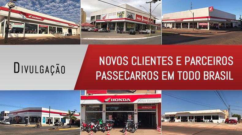 Novos clientes e parceiros PasseCarros
