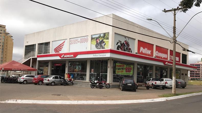 pollux canopus - ceilândia - honda motos