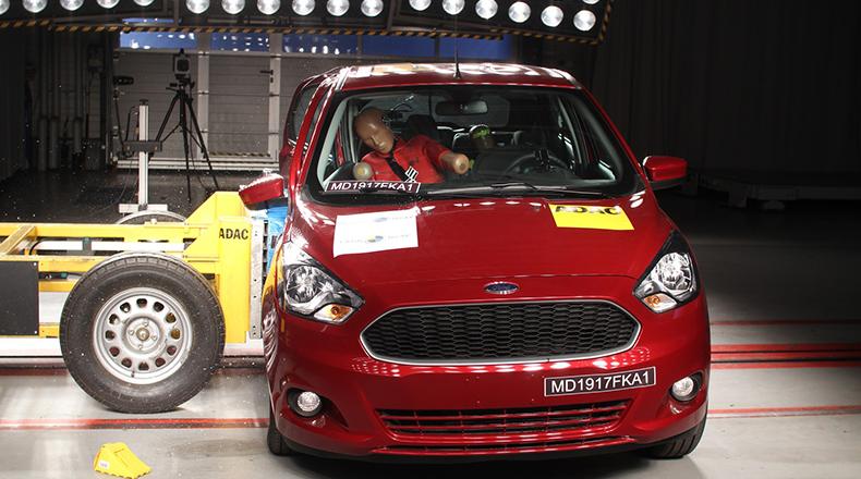 Assim como Onix, Ford Ka também recebe nota zero em teste de colisão