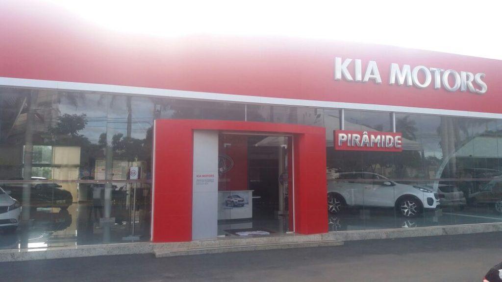 Pirâmide - Kia Motors - Montes Claros - Carmaix