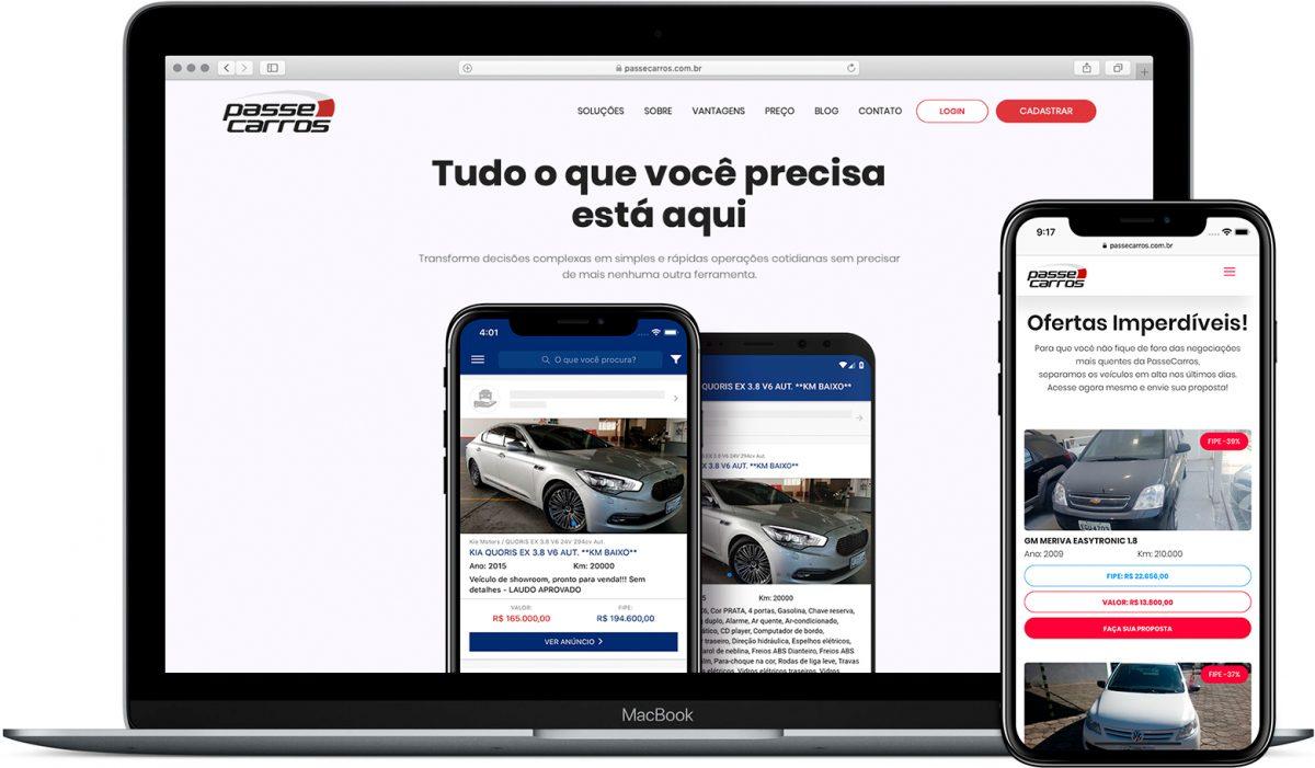 Novo Site PasseCarros