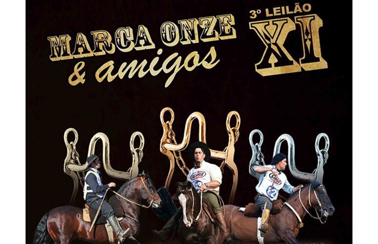 Leilão Marca Onze & Amigos chega a sua 3ª edição
