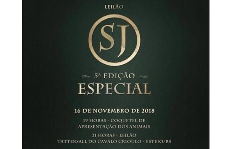 Cabanha São João oferta 41 lotes de Cavalo Crioulo em Esteio (RS)