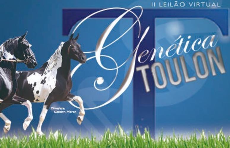 II Leilão Virtual Genética Toulon oferta animais Mangalarga Marchador