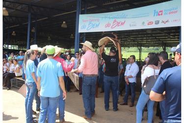Team Penning do Bem doa mais de R$ 230 mil para o Hospital de Amor