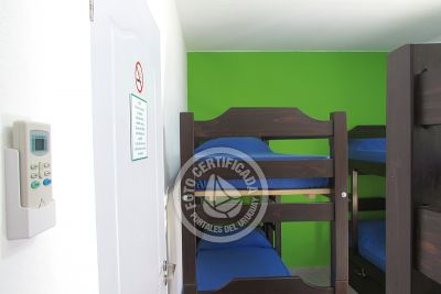 Hostel De los Colores - Habitación 6p. compartida Piriápolis