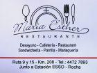 Parador María Esther - Ruta 9 - Rocha