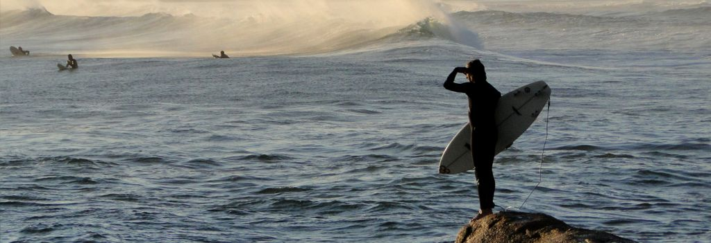 Surf en toda la costa atlántica