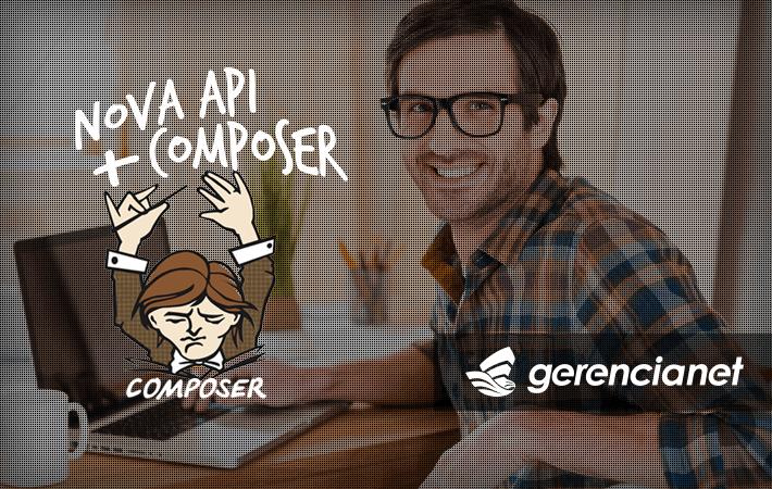 Integre a nova API utilizando o composer